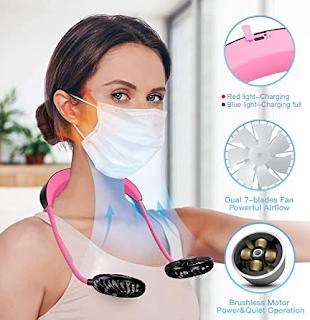 Personal neck fan, cooling fan, personal fan