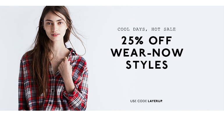 All Things Simplified: Shopping Simplified: Madewell - 25% Off ...