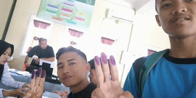 Cap 3 jari SMK Yasmdia Ambarawa Tahun 2019