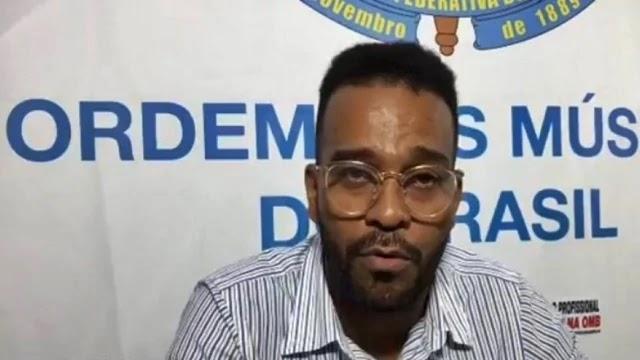 O chefe de gabinete da Ordem dos Músicos da Bahia, Boghan Gaboott, denunciou irregularidades no Escritório Central de Arrecadação e Distribuição de Direitos Autorais (Ecad)