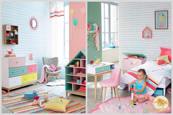 Dos opciones de cuarto para nenas con mucha onda