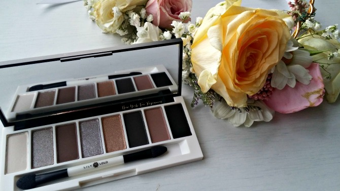 Lily Lolo Pedal to the Metal Palette review with swatches at New York For Beginners