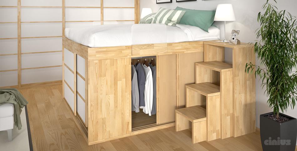 Il letto sopra l\'armadio | piccolearchitetture