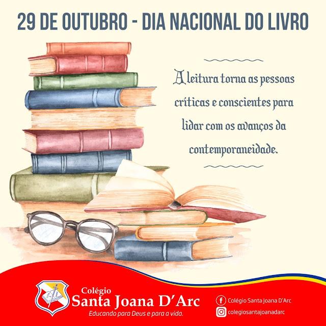 Colégio Santa Joana D'Arc, comemora o Dia Nacional do Livro!!!