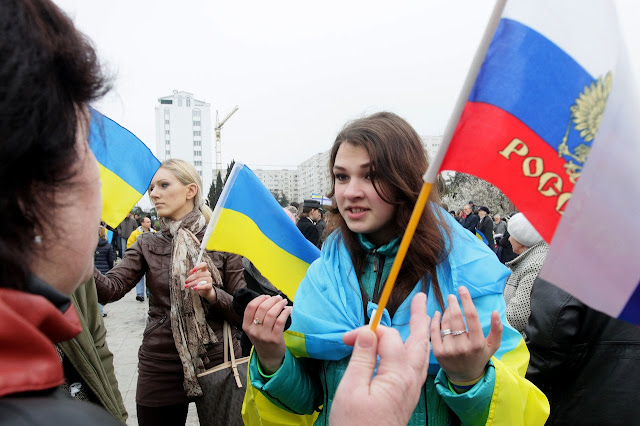 Sainda da Ucrania da Russia