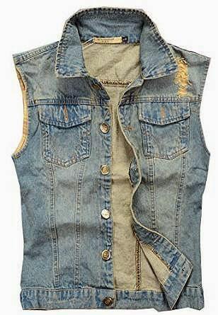 Denim Waistcoat for Men