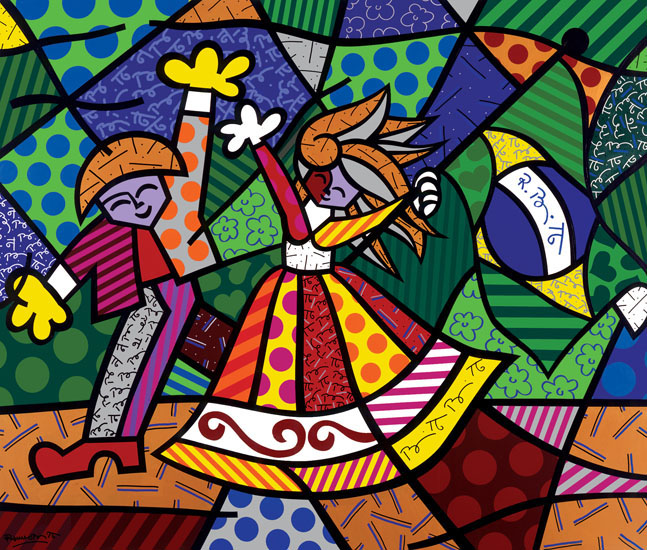 b2c5e55f7 Colors Of Brazil, 1996, 80 x 90 inches, acrylic on canvas