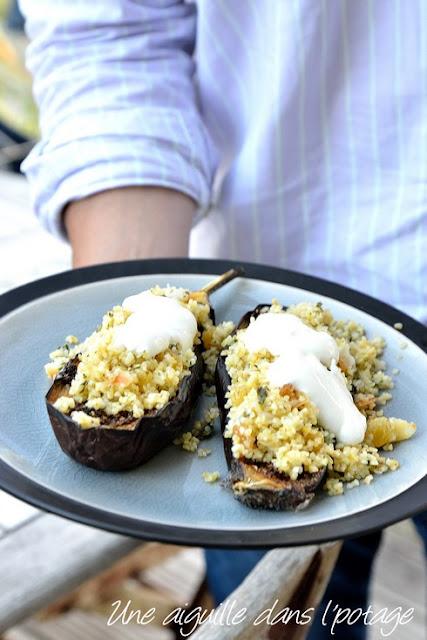 Chermoula Roasted Eggplant