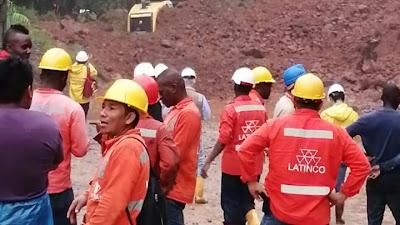 Continua taponada la vía Quibdó-Medellín y sería habilitada hasta el próximo sábado