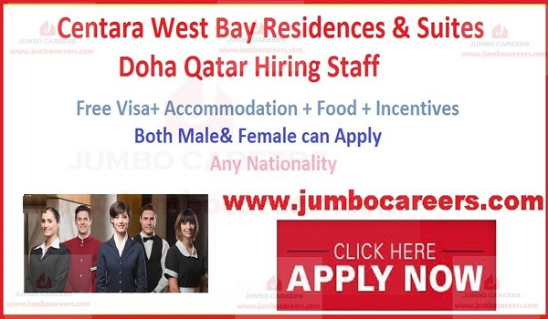 Qatar job vacancies with salary, Jobs with salary in Qatar,