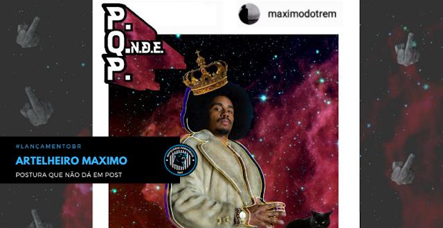 """O rapper Artelheiro Maximo lança o EP """"Postura que não dá em Post"""""""