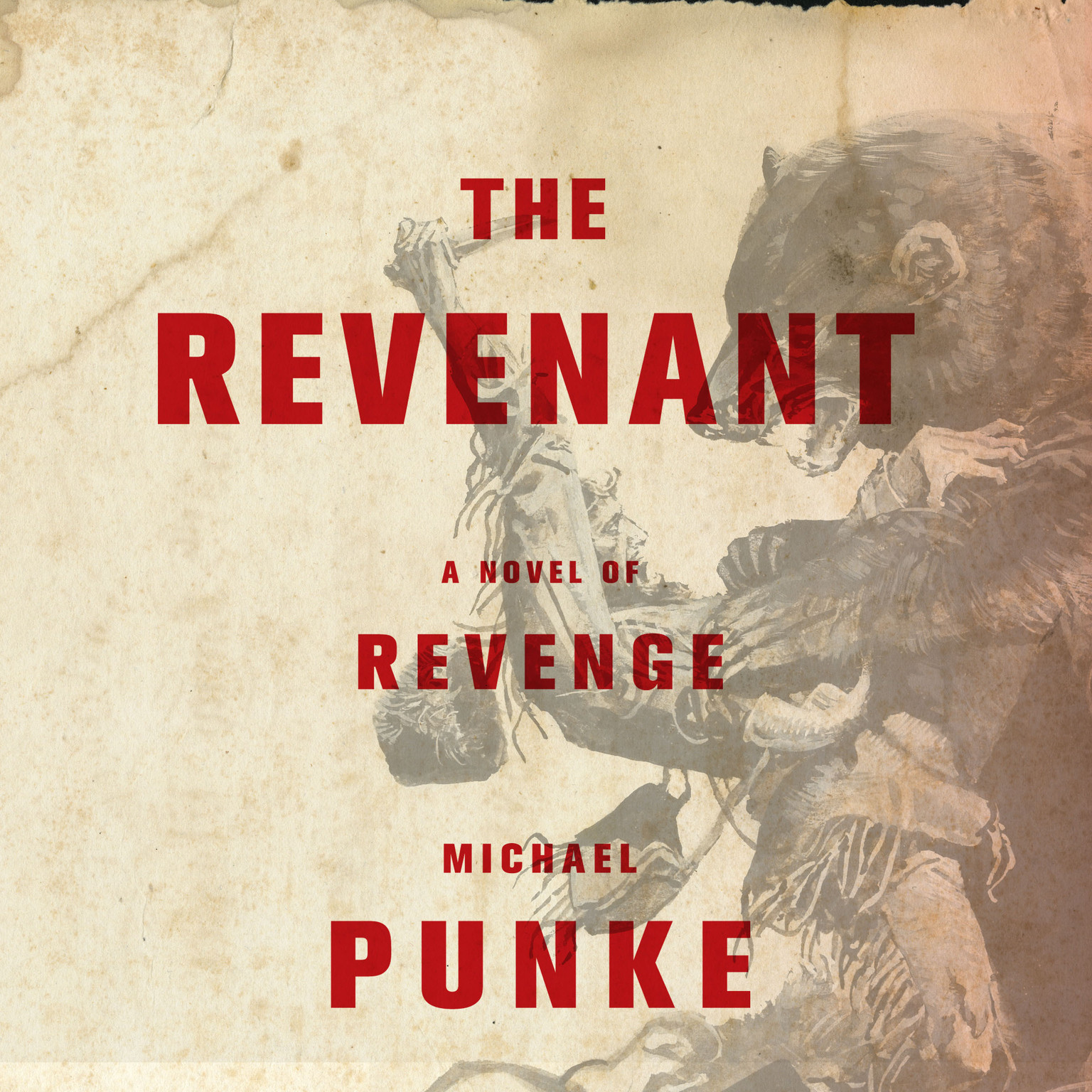Book cover for Michael Punke's The Revenant in the South Manchester, Chorlton, and Didsbury book group