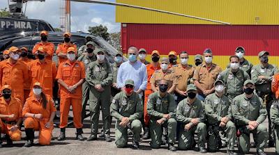 Grupamento Aéreo e Corpo de Bombeiros lançam serviço de resgate aéreo no Agreste e Sertão de Alagoas