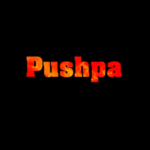 Pushpa Movie Text PNG HD Free Stock For Editing