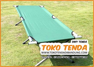 Alat Tidur Praktis Lipat - Velbed Allumunium Fortabel Folding Bed