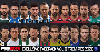 PES 2019 Exclusive Facepack Vol. 8 by Sofyan Andri