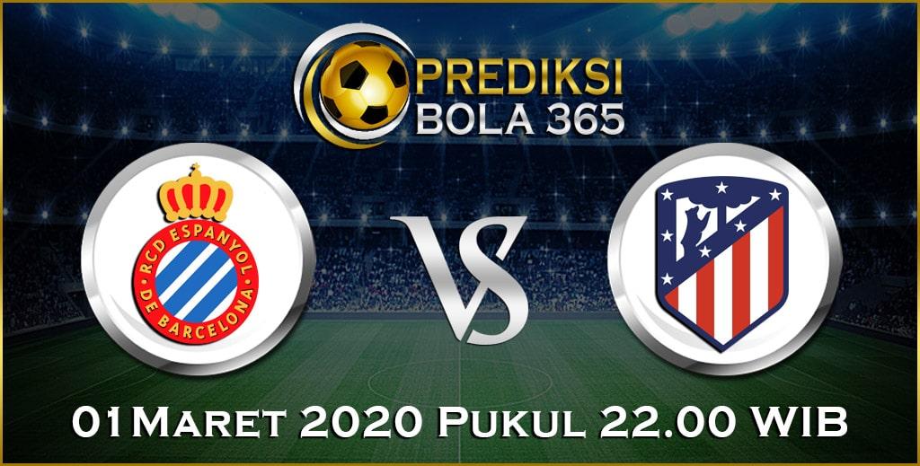 Prediksi Skor Bola Espanyol vs Atl. Madrid 01 Maret 2020