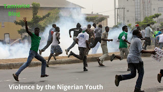 Violence of the Nigerian youth
