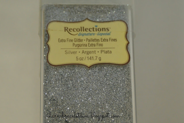 extra fine glitter silver German glass glitter