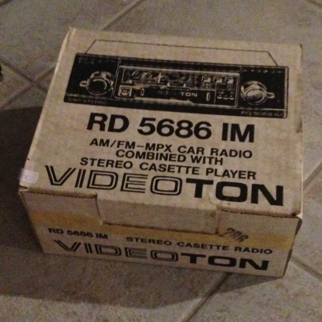 Ezt is le kellett fotóznom - VIDEOTON RD 5686 IM Stereo Casette Radio