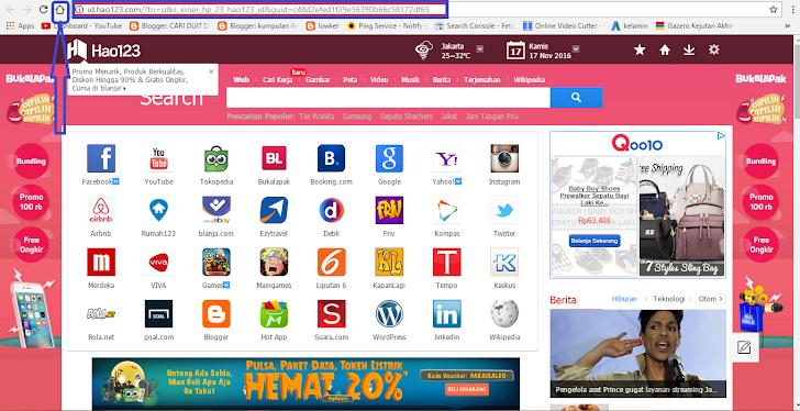 Tips Cara Menghilangkan Iklan Hao123.com Pada Browser PC Anda