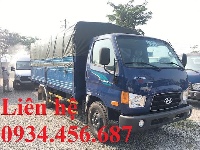 Hyundai 110sp thành công thùng bạt
