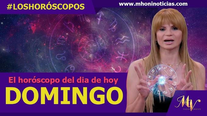 Los horóscopos del DOMINGO 19 de SEPTIEMBRE del 2021 - Mhoni Vidente