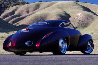 Holden Efijy Concept Model Car Rear Side