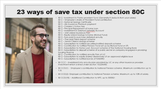 23 ways of save tax Under Section 80C