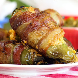 Southwestern Grilled Bacon Wrapped Jalapeno Poppers