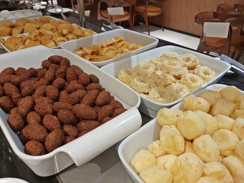 Hotel Radisson Belém café da manhã