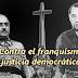 IU plantea derribar la Cruz del Valle de los Caídos, sacar a Primo de Rivera e ilegalizar la Fundación Franco