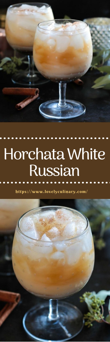 Horchata White Russian #cocktail #Traditionalrecipe