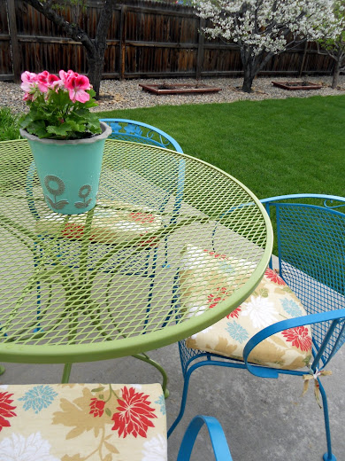 Just Another Hang Up Patio Furniture Redo