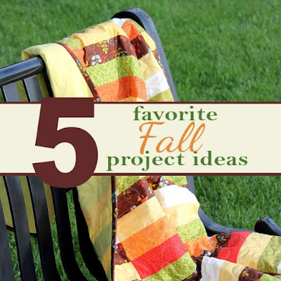 Fall craft and sewing projects