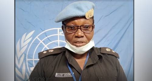 Nigeria's Catherine Ugorji Selected For UN Woman Police Officer Of The Year Award
