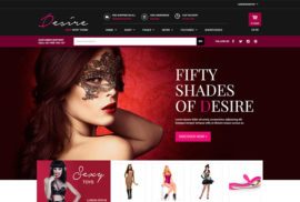 WordPress Ecommerce Themes - Desire Virtual Shop
