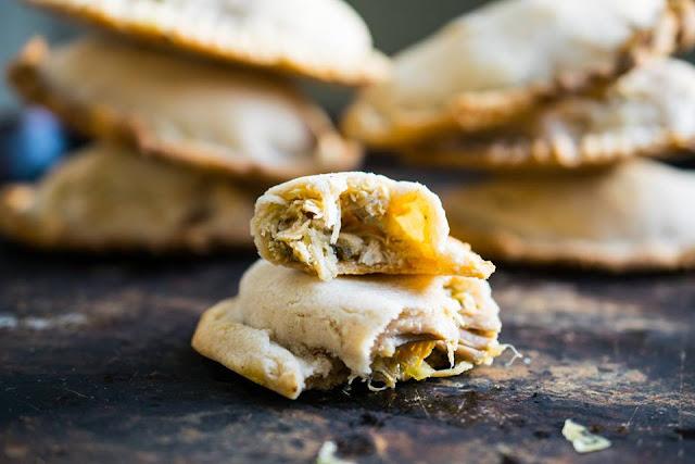Shredded chicken empanadas AIP paleo autoimmune protocol