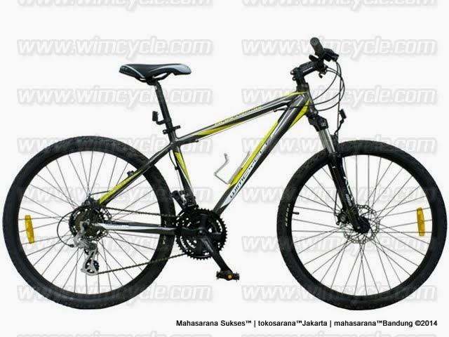 Sepeda Gunung Wimcycle Roadtech RX Rangka Aloi 21 Speed Shimano EZ-Fire 26 Inci