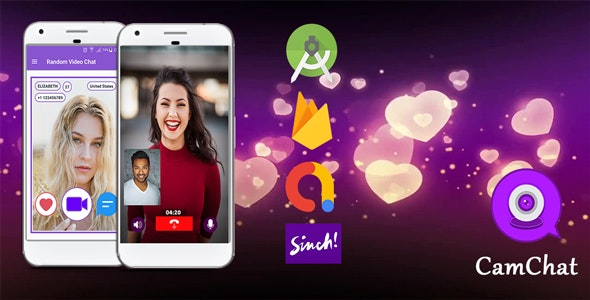 Download CamChat v1.0 - Android Dating App with Voice/Video Calls