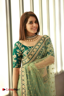 Actress Raashi Khanna Latest Pictures in Saree at CineMAA Awards 2016 Pictures 0002