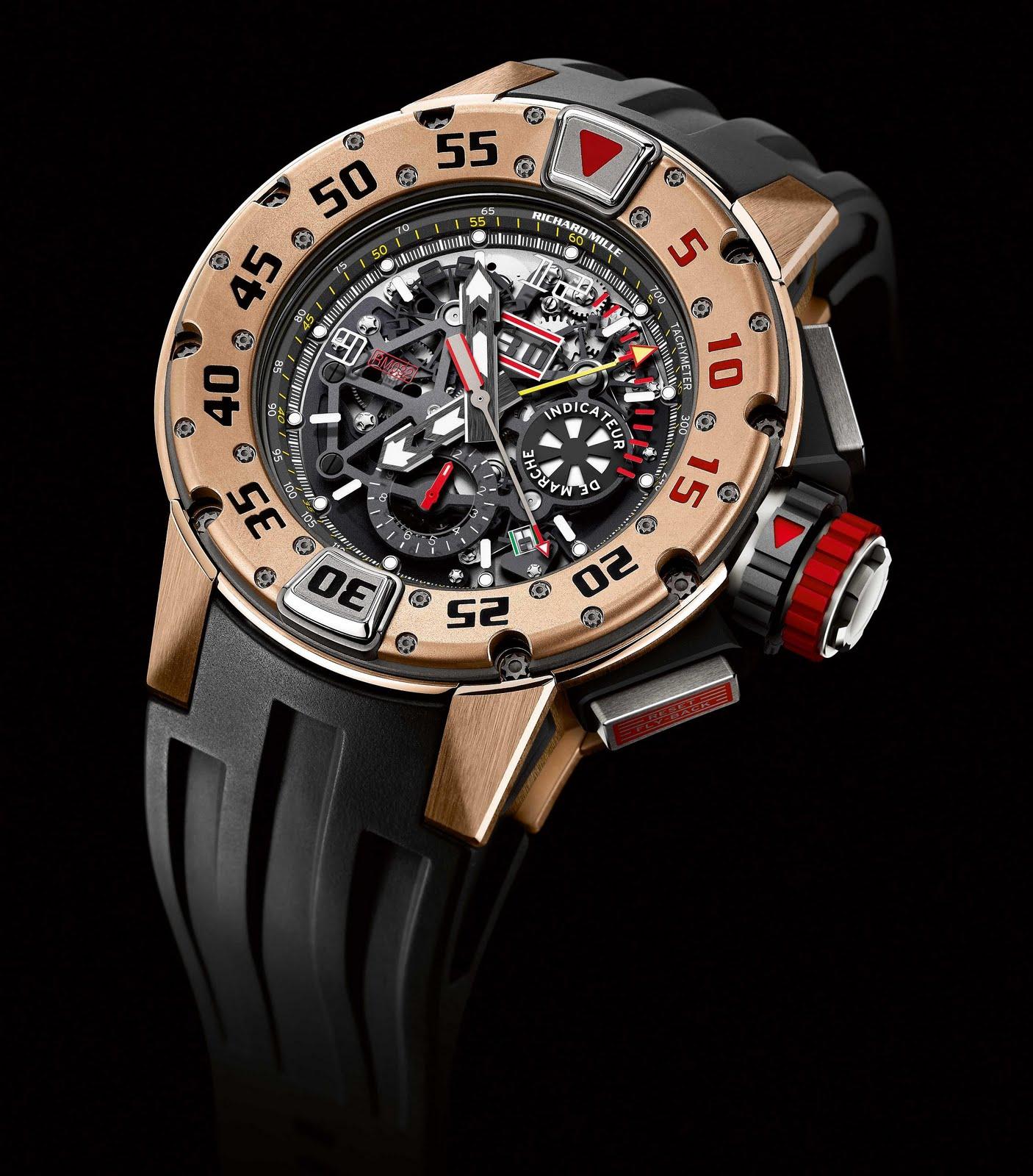 0c936ac0bc3 Chegado ao mercado - relógio Richard Mille Automatic Chronograph RM 032