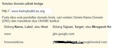 pasang domain eu.org ke blogger
