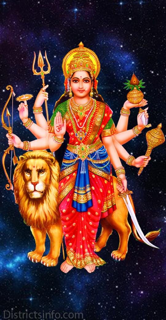 Goddess Durga Devi Hd Wallpapers For Smartphone