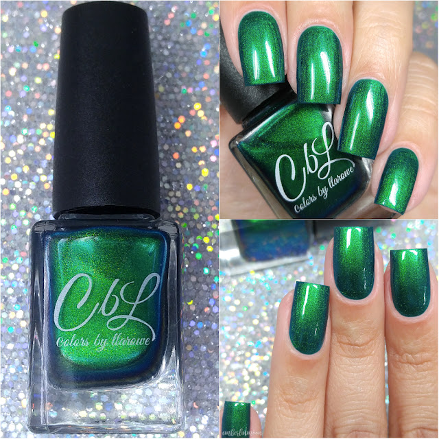 Colors by Llarowe - Emerald Illusion | Swatch & Review