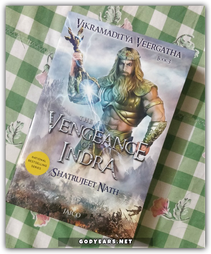 The Vengeance of Indra finds author Shatrujeet Nath once more in fine form as he takes a different approach from the first 2 books of this series