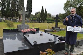 Sir Francis G. Jackson  Cementerio Británico Uruguay Fútbol Peñarol visitas guiadas