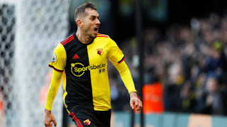 Udinese has completed the signing of Watford attacker Roberto Pereyra.