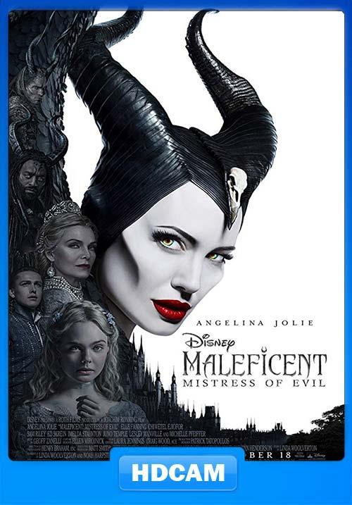 Maleficent Mistress of Evil 2019 English 720p HDCAM x264 | 480p 300MB | 100MB HEVC