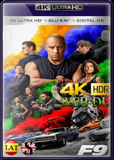 Rápidos y Furiosos 9 (2021) WEB-DL 4K UHD HDR LATINO/INGLES